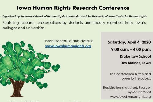 April 4 human rights conf.